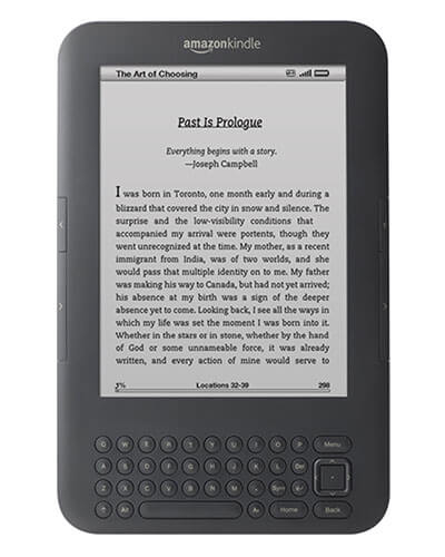 kindle keyboard/kindle 3